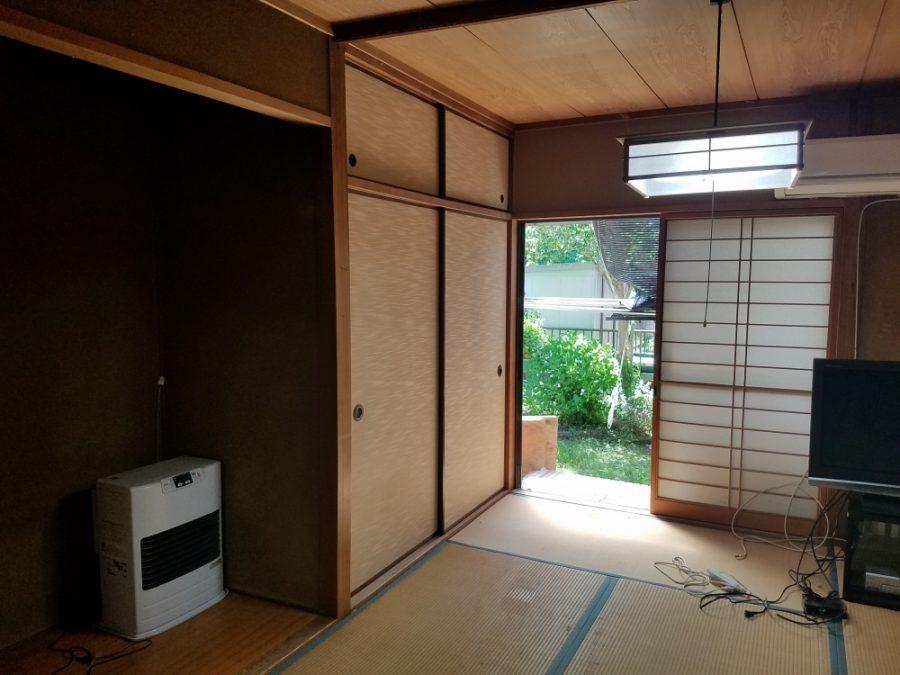 8畳和室を洋室へ