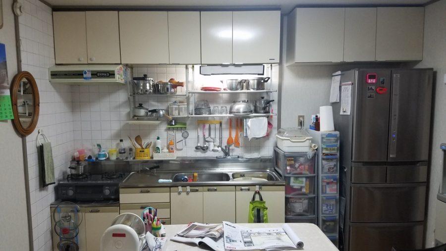キッチン45cm長く!