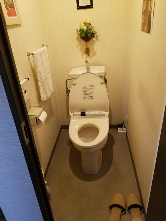 華やかなトイレに