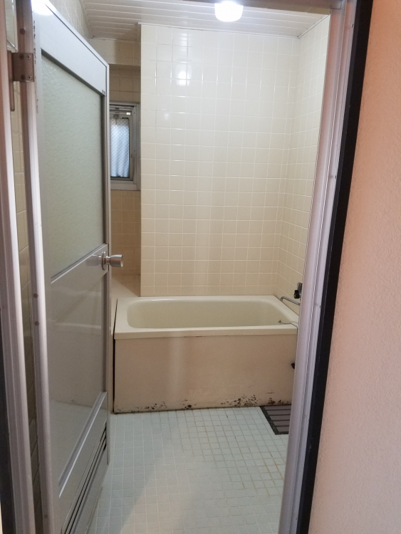 断熱性の高いバスルーム