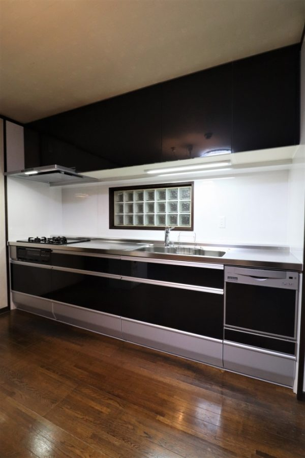 3mの使いやすいキッチン