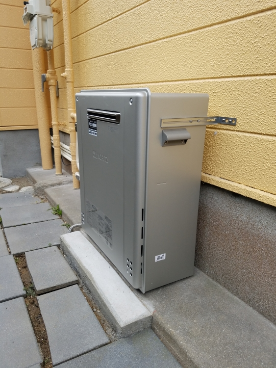 高効率型給湯器に交換