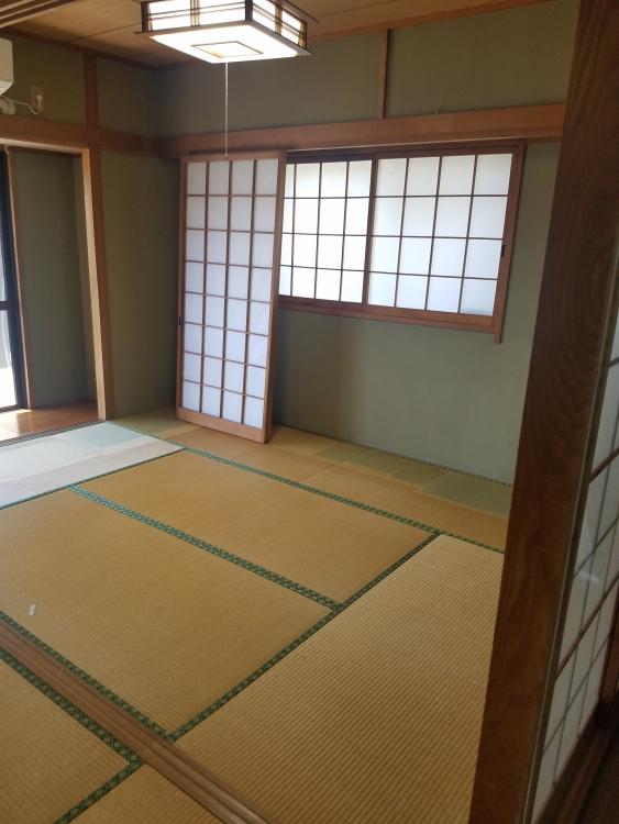 和室を明るい洋室へチェンジ