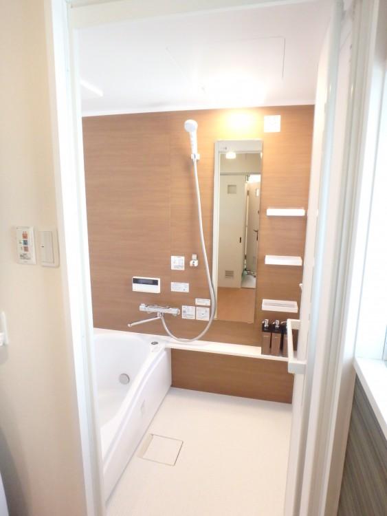 【浴室】快適な空間に生まれ変わりました。