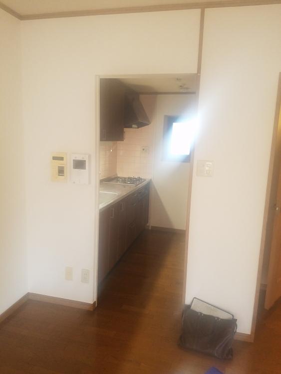 明るくなったキッチンスペース