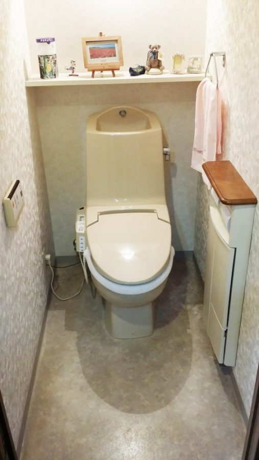 トイレもスッキリしました