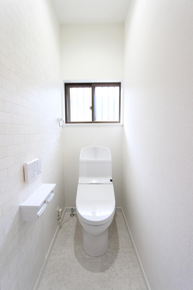 トイレ寸法も少しアップ