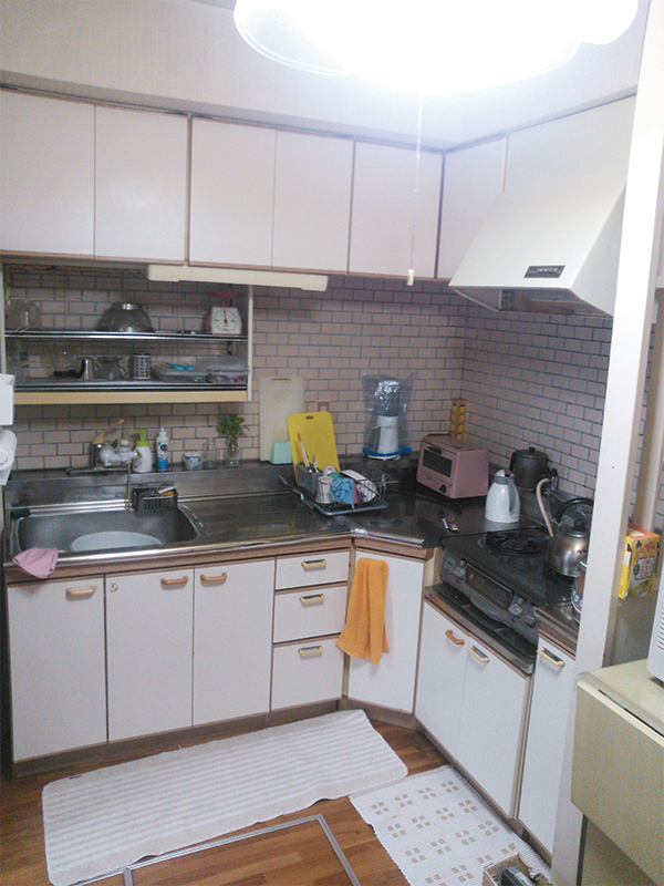 【キッチン】広く使い勝手のよい台所に