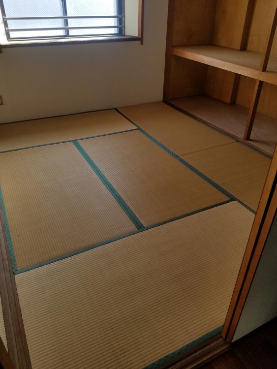 和室畳2間をフローリングへ