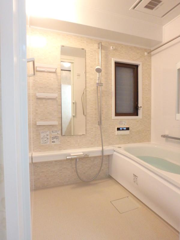 【浴室】浴室も新しくなりました。