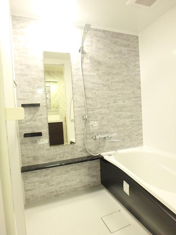 【浴室】高断熱浴槽でお湯の温かさが長持ち。