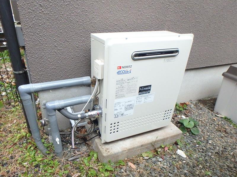 【給湯器】ノーリツのエコジョーズを設置して、高断熱でエコなバスルームに!