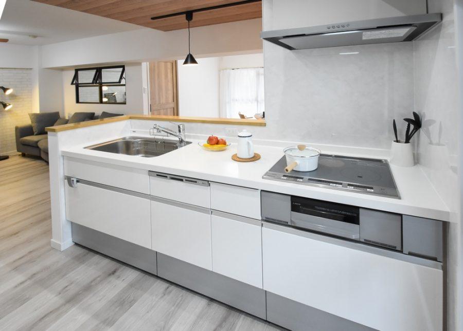 キッチンも食洗器やIH完備