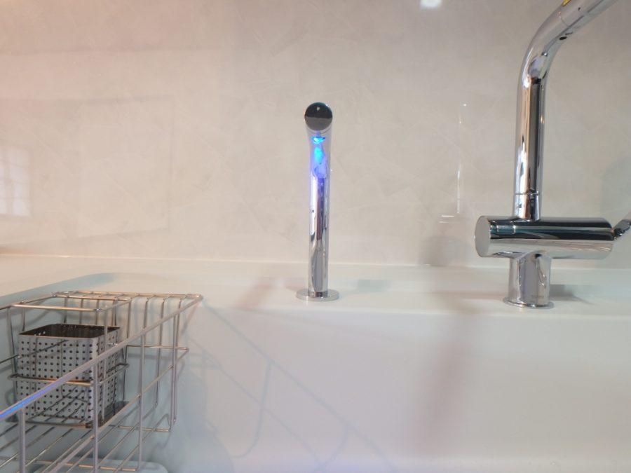 きれい除菌水でシンク内の汚れも落ちやすく