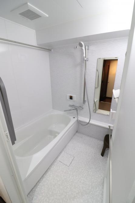 1216サイズから1416サイズへ浴室拡張