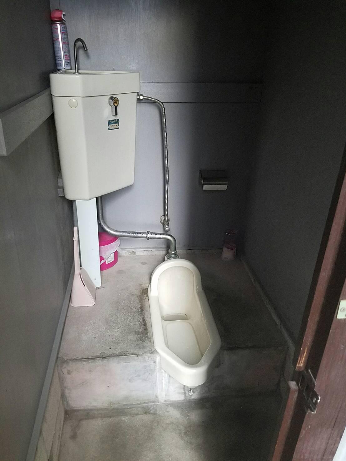 トイレは和式から洋式にかわり、とてもきれいになりました。
