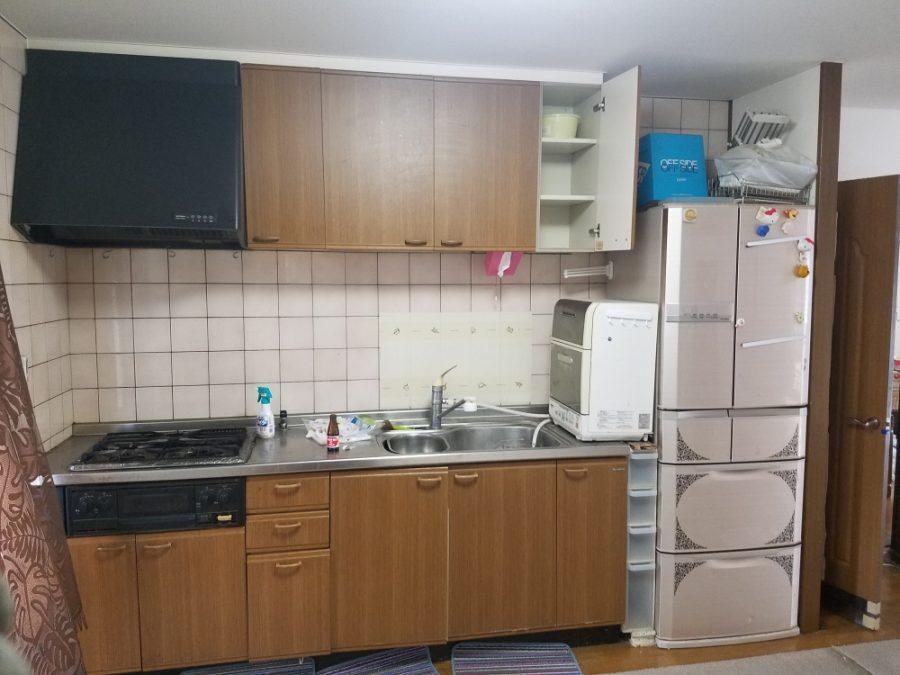 IH、食洗器完備の高級システムキッチン