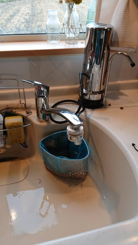 浄水器一体型水栓に