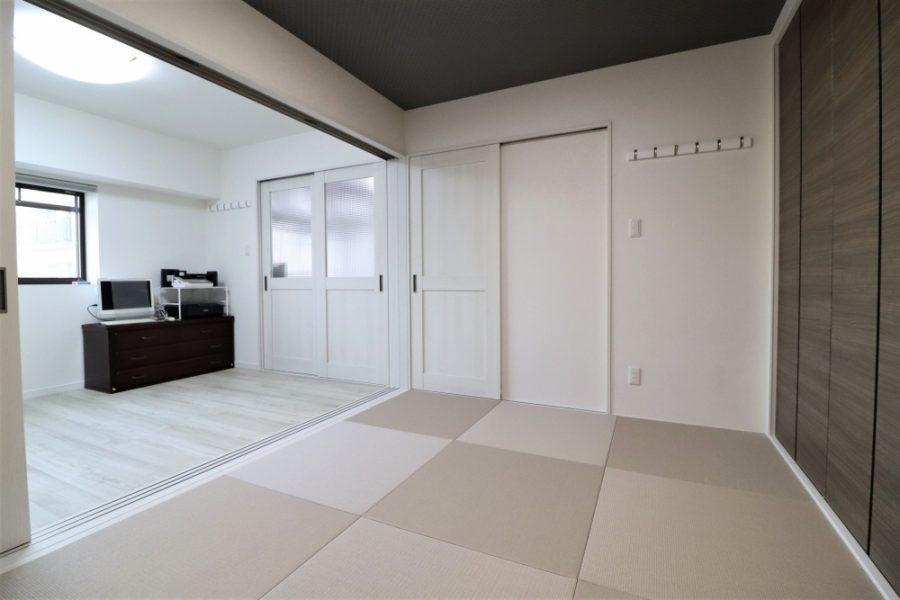 和室と洋室がバリアフリー設計
