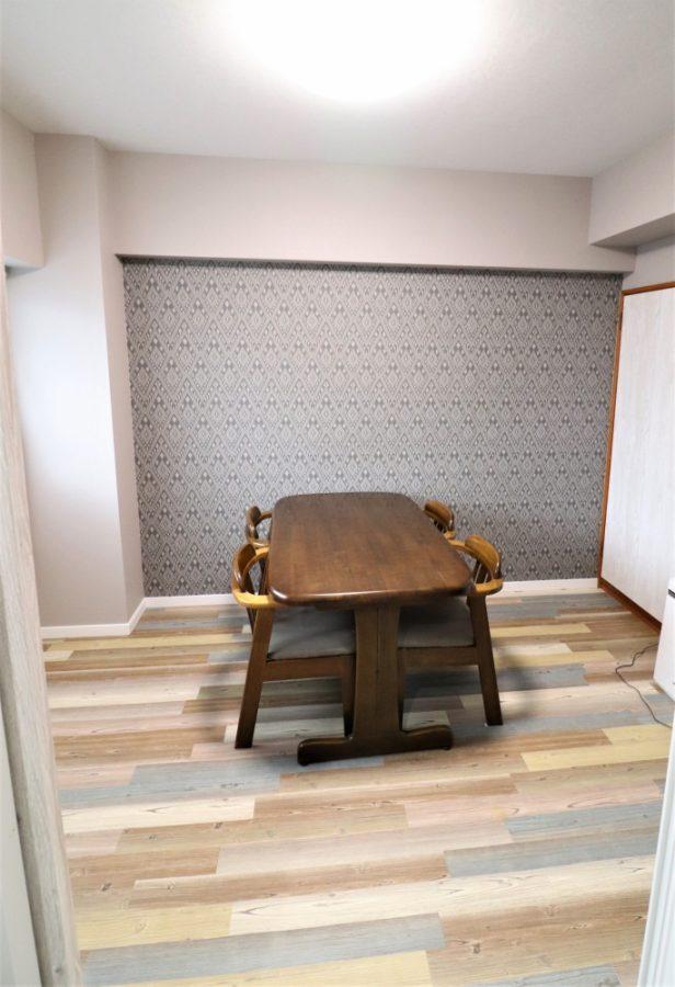 他の洋室のクロスやフロアタイル張り替え