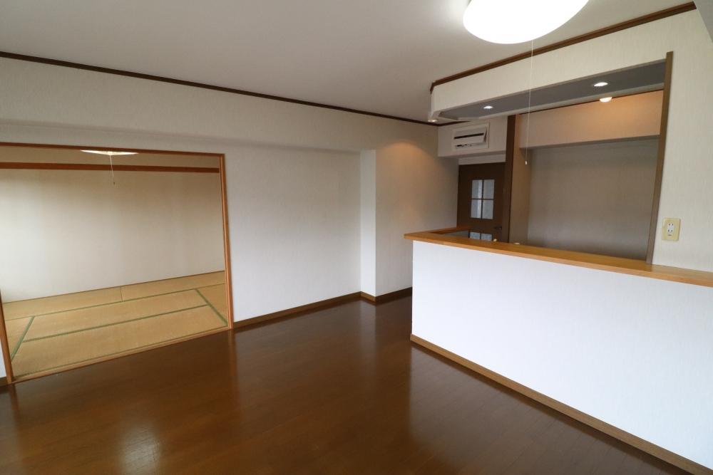 和室とリビングを大きなLDK空間へ