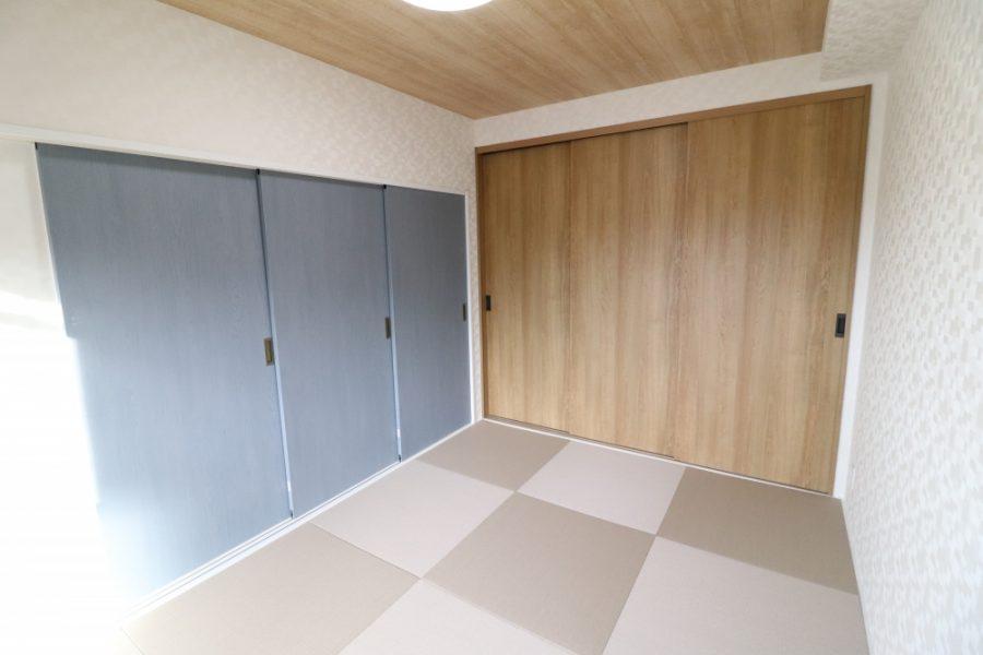 畳もダイケン和紙畳で機能性も充実