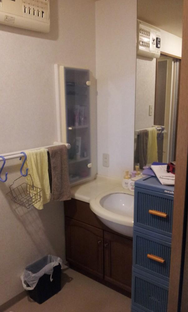 【洗面台】「収納力・豪華さ・使い勝手」の3拍子そろった洗面台に!