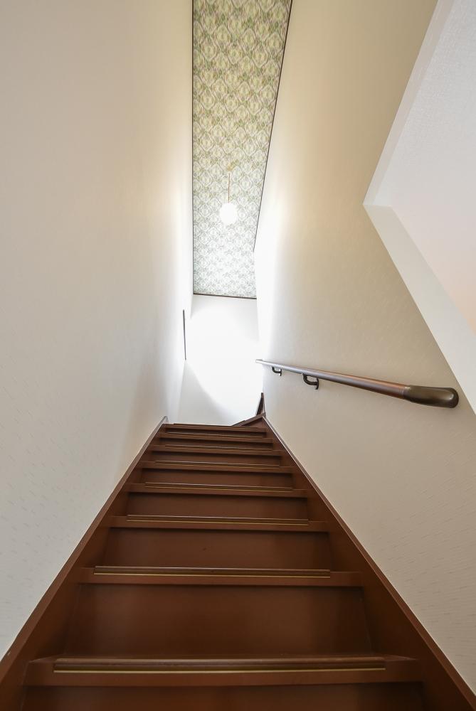 天井物干しせや手すりも設置