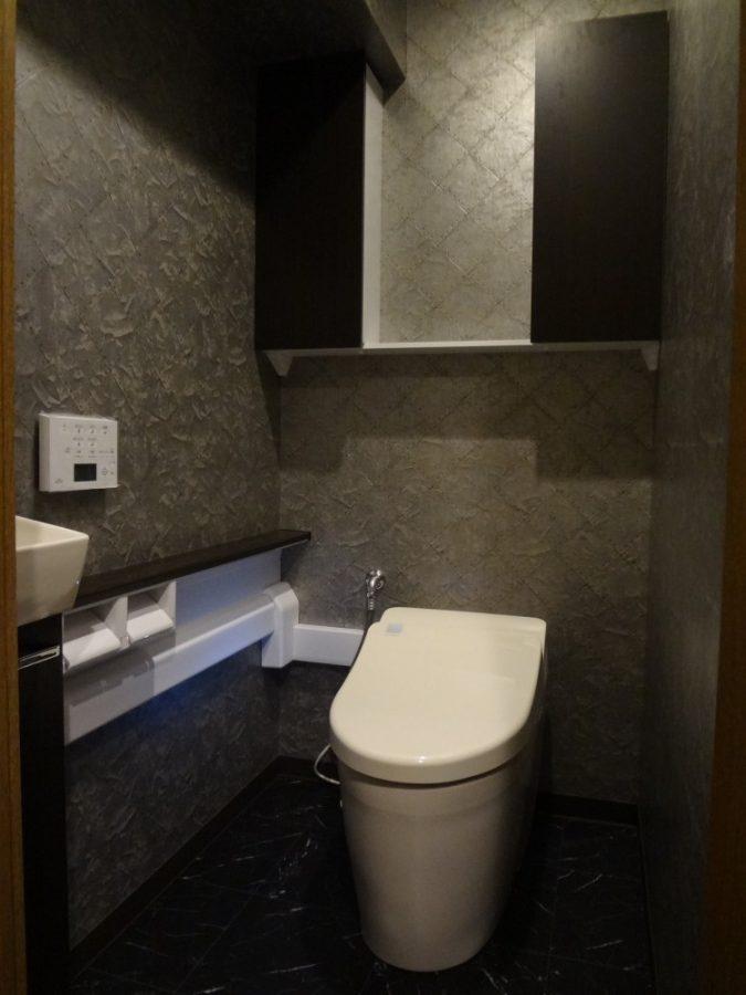 【トイレ】豪華で高級感のある空間に変身!