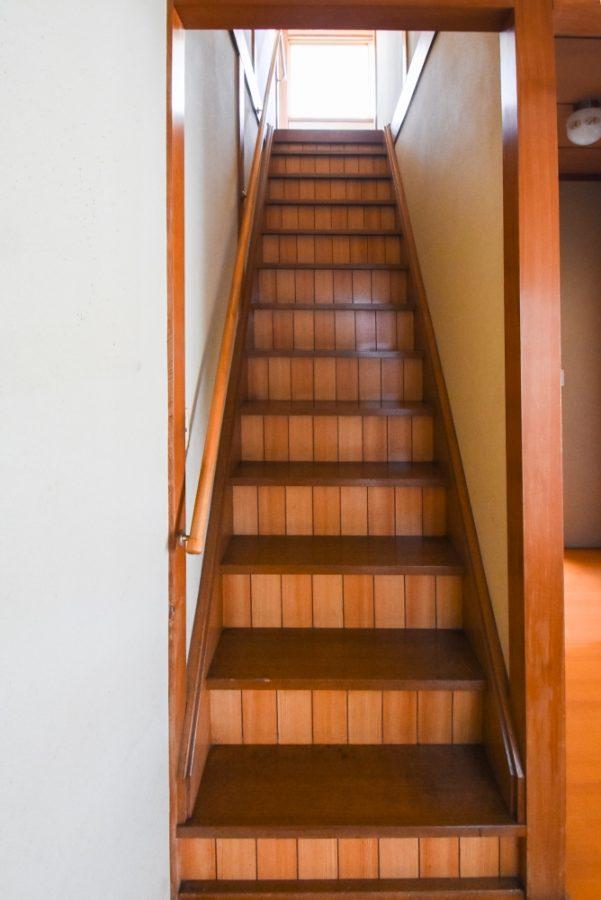 階段も緩くなり上り下りしやすく