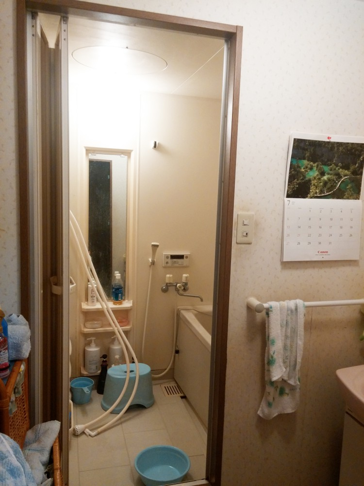 【浴室】TOTOの高断熱浴槽仕様にして、北九州リフォーム助成金を活用しました。