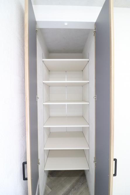 書類をたくさん収納できる収納スペース