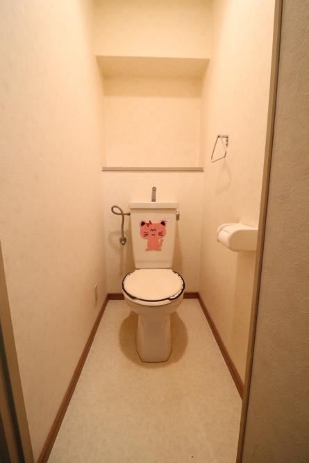 タンクレストイレでスッキリ