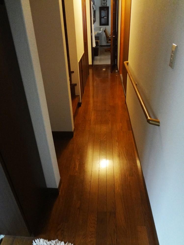 【廊下】お客様の思うままのデザインに仕上がりました。