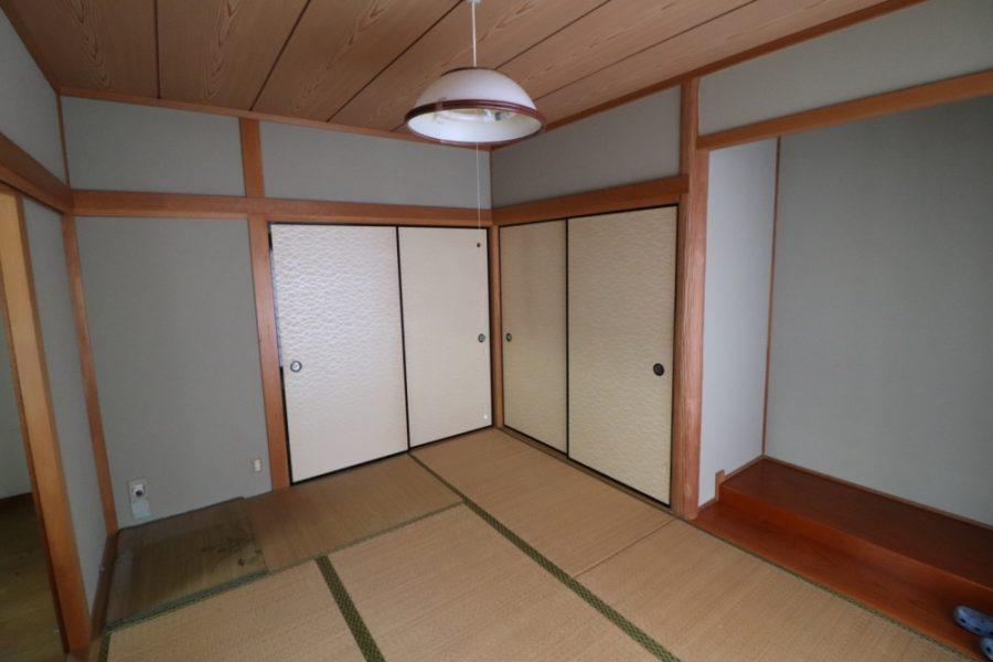 和室部がキッチンスペースへ大変身