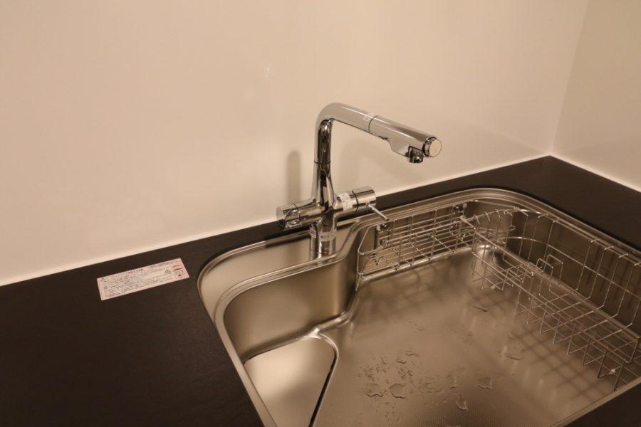 浄水器兼用バブルシャワー水栓