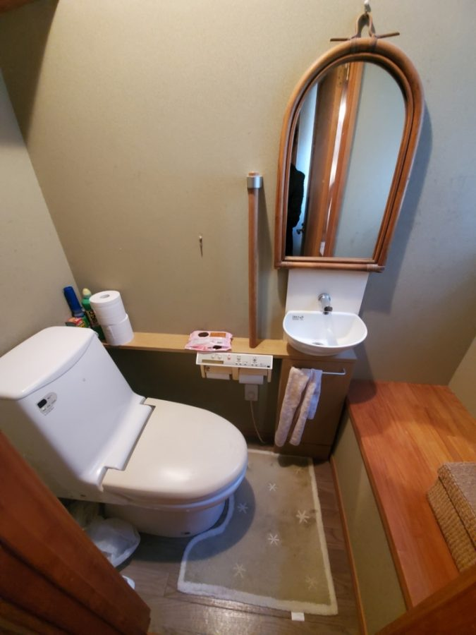トイレや手洗い器取替