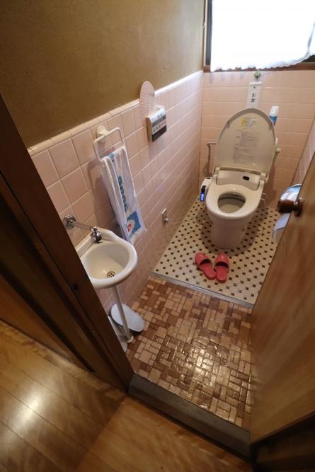 手洗いも使いやすくバリアフリー化
