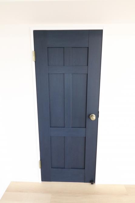 LDKとWICのドア色を変えてしまう