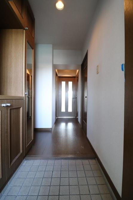 玄関開けたら大好きなデザインでお出迎え