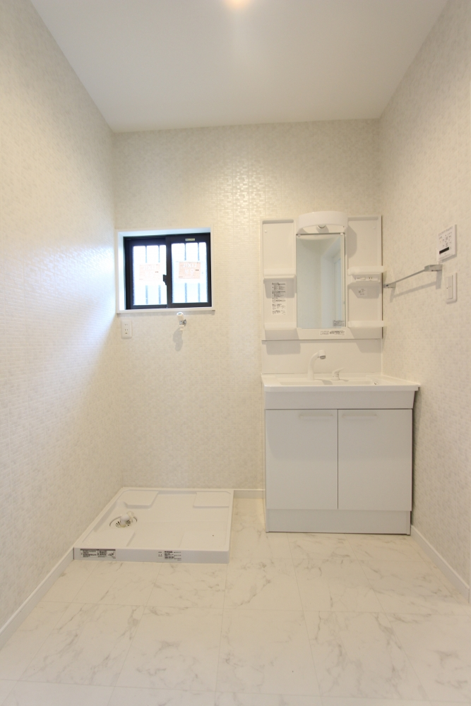 洗面所も広々1坪へ