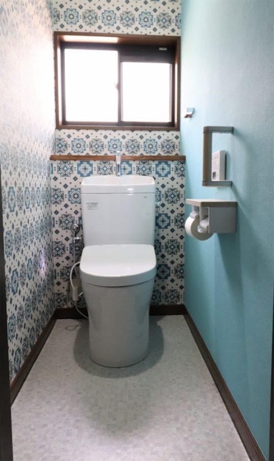 2FトイレもTOTOピュアレストQRとアプリコットF3A組み合わせ