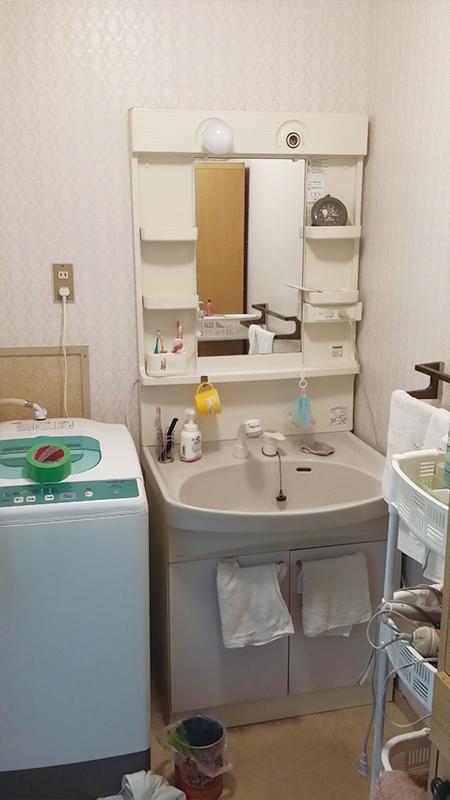 【洗面台】洗面台も使いやすく