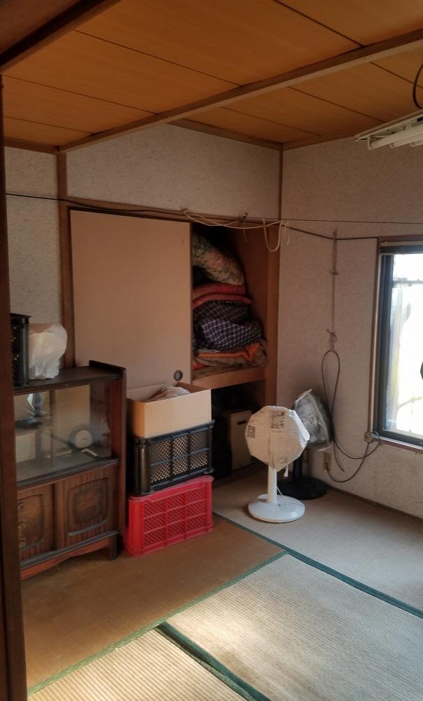 押し入れは撤去して和室から洋室へ