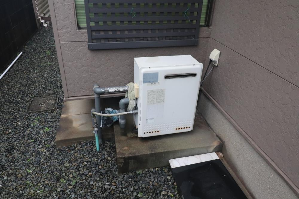 エコジョーズ追い焚きガス給湯器取替