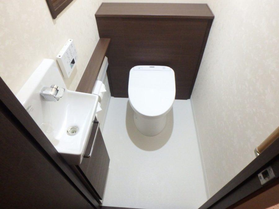 【トイレ】収納上手、見た目もカッコよく!