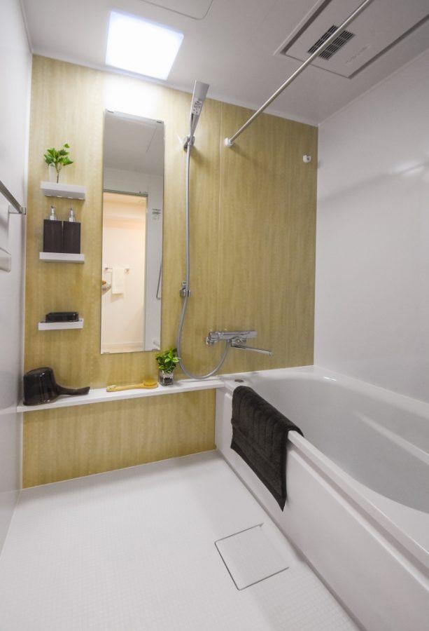 高断熱仕様のTOTOバスルーム