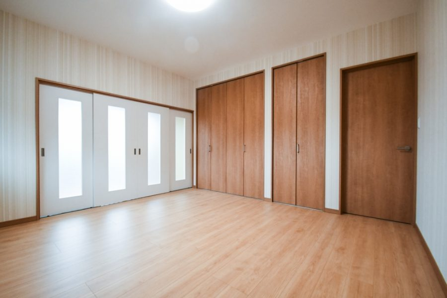 2F和室②から洋室へクローゼットも大容量