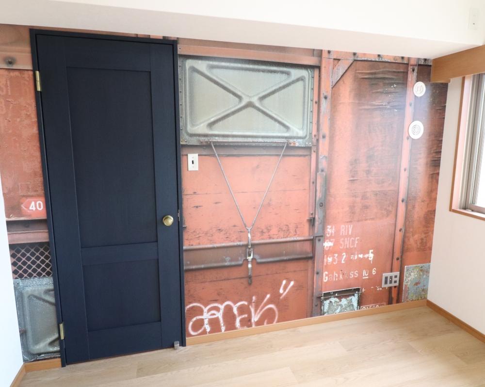 洋室①ドアはクラフトレーベル