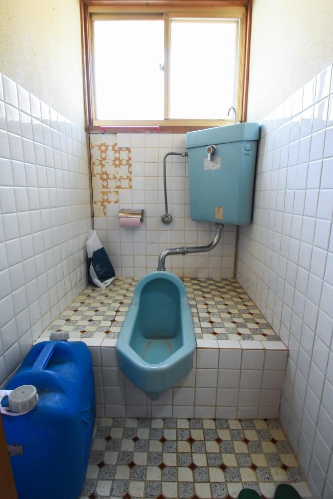 サイズ和便器から節水型トイレ